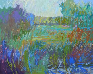 S1586D - Schmidt, Jane - Color Field No. 67