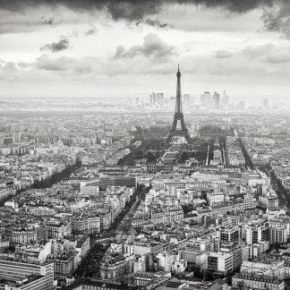 D1060D - Dragt, Wilco - La Tour Eiffel et La Defense
