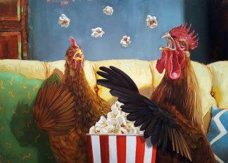 H1411D - Heffernan, Lucia - Popcorn Chickens