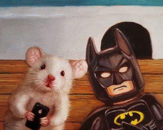 H1415D - Heffernan, Lucia - Selfie with Batman