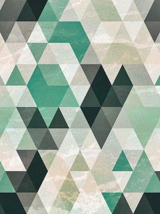 T602D - Tai Prints - Triangle Pattern
