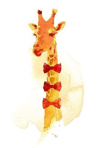 F671D - Farkas, Robert - Elegant Giraffe