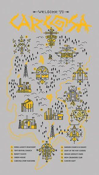 F695D - Farkas, Robert - True Detective Map