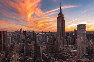 G919D - Getty, Bruce - 9-11 New York Sunset 2