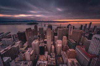 G936D - Getty, Bruce - San Francisco Look Down