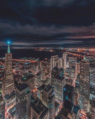 G937D - Getty, Bruce - San Francisco Look Down 5