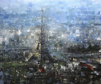 L889D - Lague, Mark - Blue Paris