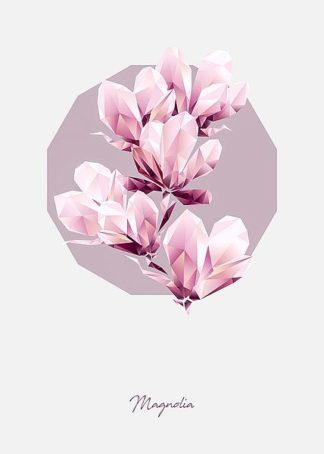 IN99235 - GeoMania - Poly Magnolia