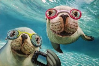H1457D - Heffernan, Lucia - Underwater Selfie