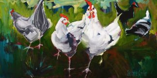 A490D - Aguilar, Stephanie - What The Cluck