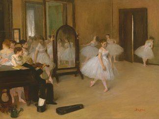D1902D - Degas, Edgar - The Dancing Class
