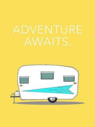 A503D - Annie Bailey Art - Adventure Awaits