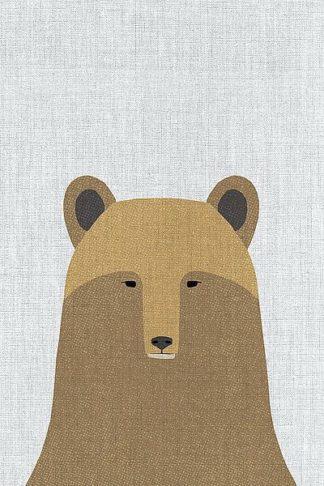 A519D - Annie Bailey Art - Grizzly Bear