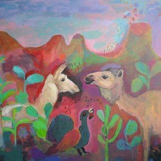 A536D - Alvarez, Iria Fernandez - The Camel and the Llama