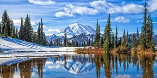 B3616D - Broom, Michael - Mt. Rainier Vista
