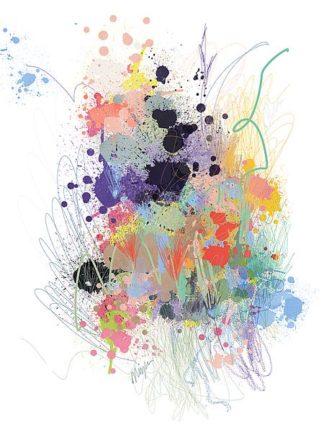 C1201D - Christine, Niya - Lavender Wildflower Explosion