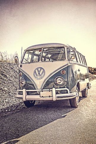 F713D - Fielding, Edward M. - Surfers' Vintage VW Bus