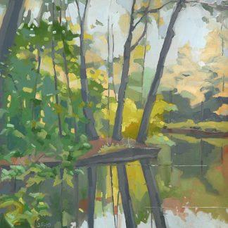 R1190D - Rufo, John - Wooded Pond