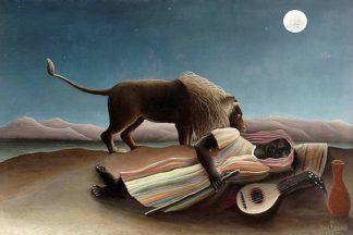 R1191D - Rousseau, Henri - The Sleeping Gypsy, 1897