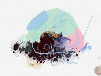 C1221D - Christine, Niya - Eggplant Abstract