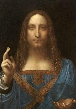 D1918D - Da Vinci, Leonardo - Salvator Mundi