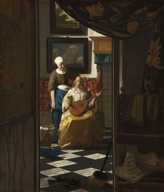 V696D - Vermeer, Johannes - The Love Letter