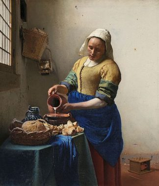 V697D - Vermeer, Johannes - The Milkmaid