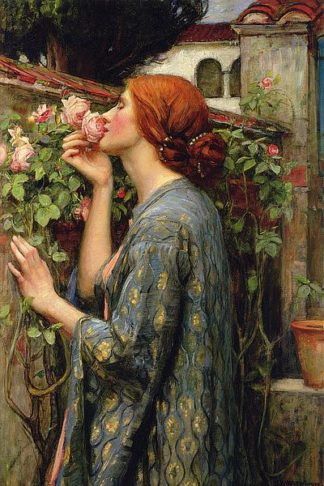 W985D - Waterhouse, John William - The Soul of the Rose