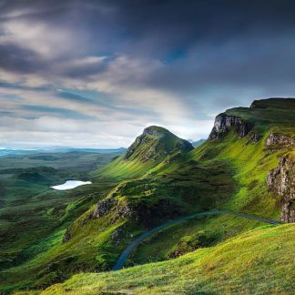 D1955D - Douglas, Lynne - Summer on the Quiraing