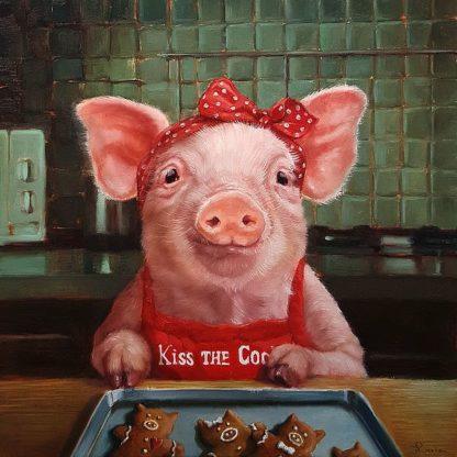 H1438D - Heffernan, Lucia - Gingerbread Pigs