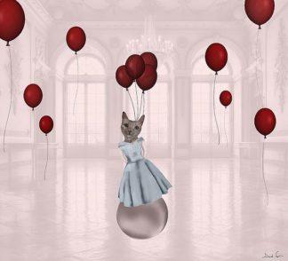 N390D - Nocito, Daniela - Ball with Balloons