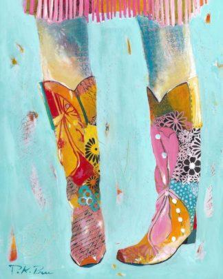 B3694D - Beer, Pamela K. - Cowgirl Boots