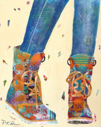 B3698D - Beer, Pamela K. - Hiking Boots