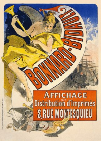 C1069D - Cheret, Jules - Bonnard Bidault