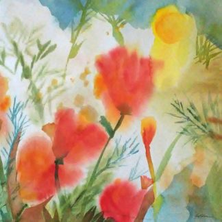Orange Poppy Reverie